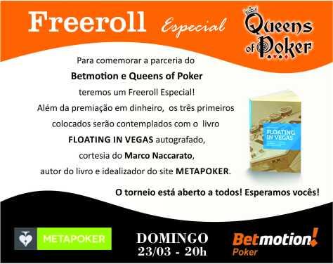 FREEROLL ESPECIAL