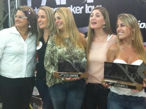 Entrega de Prêmios Evento Ladies PAPT