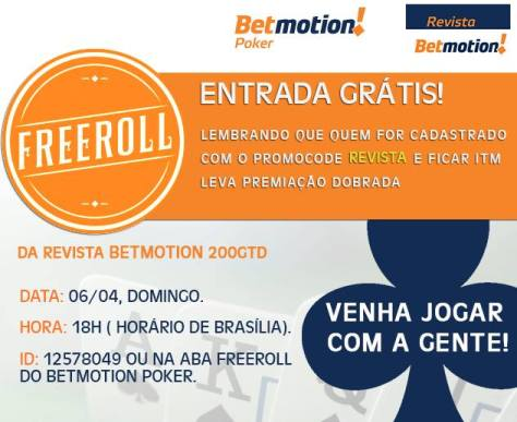 Freeroll Revista Betmotion