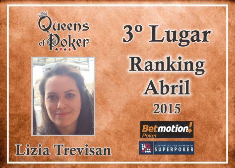 3 lugar Lizia Trevisan