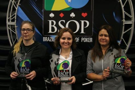 O primeiro torneio Ladies  foi no Millions de 2011, com um total de 69 Jogadoras, a campeã  Fabiana La Foz ganhou R$ 5.250,00, em segundo lugar Kelly Zumbano e terceiro Lilian Costa.