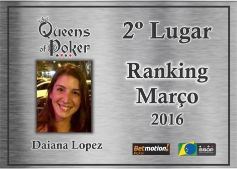 2 colocada Daiana Lopez