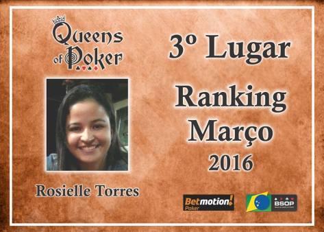 3 colocada Rosielle Torres