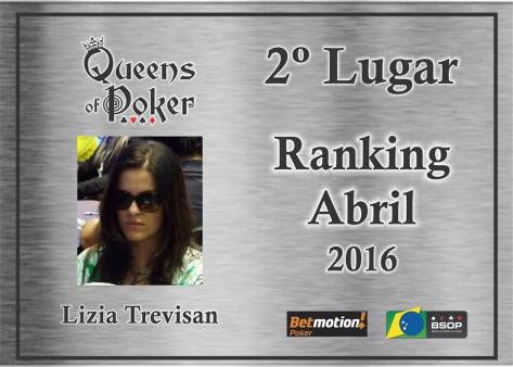 Lizia Trevisan vice campeã